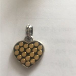 Gold/Silver heart pendant